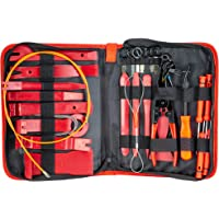 Fstop Labs 39 Pieces Auto Upholstery Trim and Molding Removal Tool Kit, Car Dash Panel Removal and Install Kit with Storage Bag
