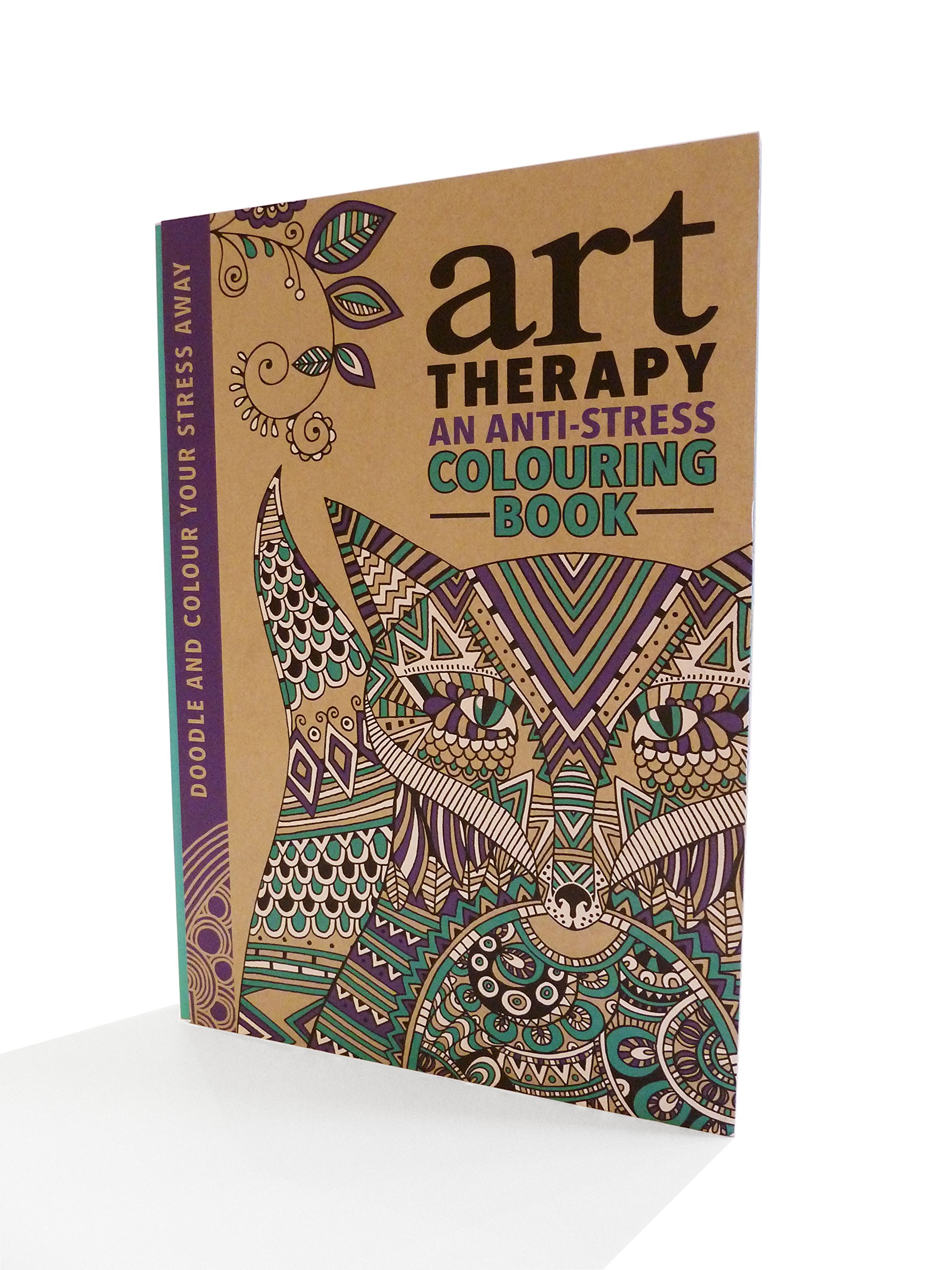 Buy The Art Therapy Colouring Book Online At Low Prices In India
