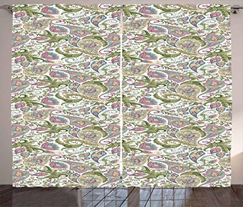 Deal of the week: Ambesonne Paisley Curtains
