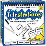 USAOPOLY Telestrations Original 8 Player, Family Board Game, A Fun Family Game for Kids and Adults, Family Game Night…