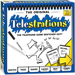 Goliath PG000264 Crown & Andrews Telestrations Party Board GameCard Game