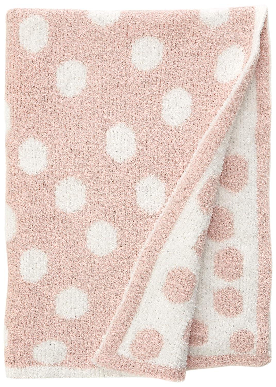 70 x 90cm Mamas /& Papas Grey /& White Stripe Chenille Blanket