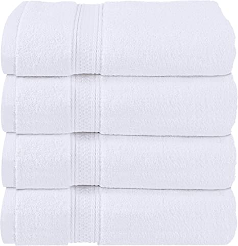 Cheap Bath Towels White 100/% Cotton 450 gsm Pack Set of 3