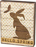 """Primitives by Hello Spring Box Sign 9.5"""" x 12"""""""