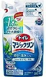 トイレマジックリン トイレ用洗剤 消臭・洗浄スプレー ミントの香り 詰替用 330ml