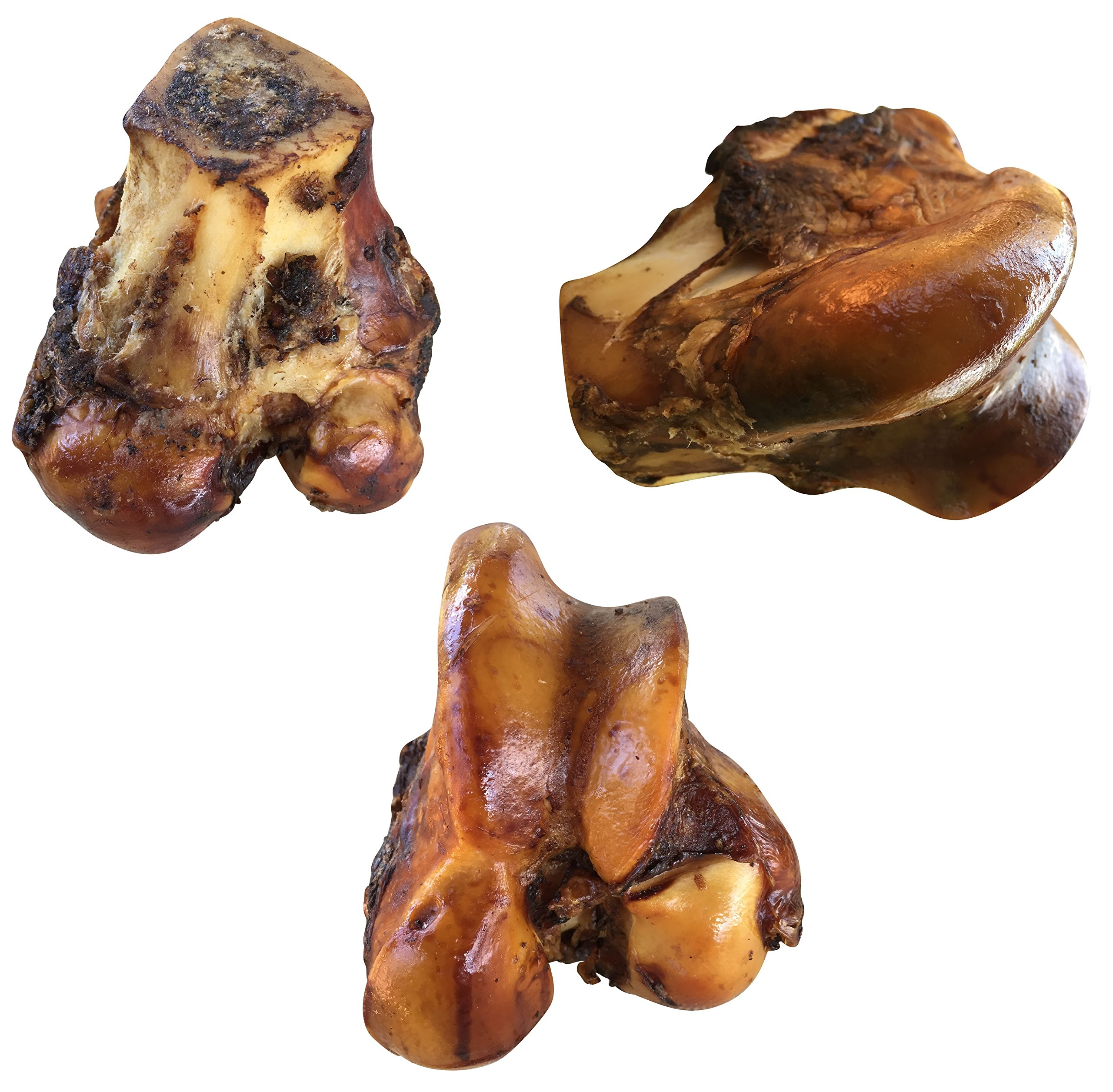 K9 Connoisseur Formerly Lillys Choice Dog Bones Made In USA For Large Breed Aggressive Chewers All Natural Long Lasting Meaty Mammoth Marrow Filled Bone Chew Treat Best For Dogs Over 50 Pounds 3 Pack