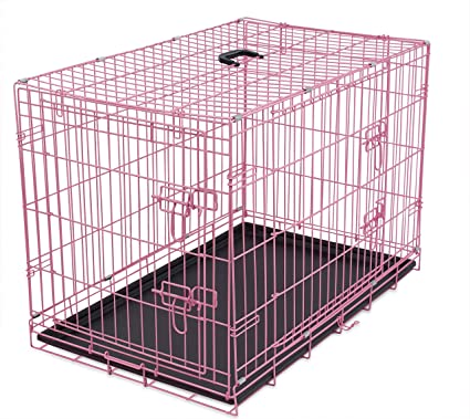 Amazon Internets Best Wire Dog Kennel Large 42 Inches