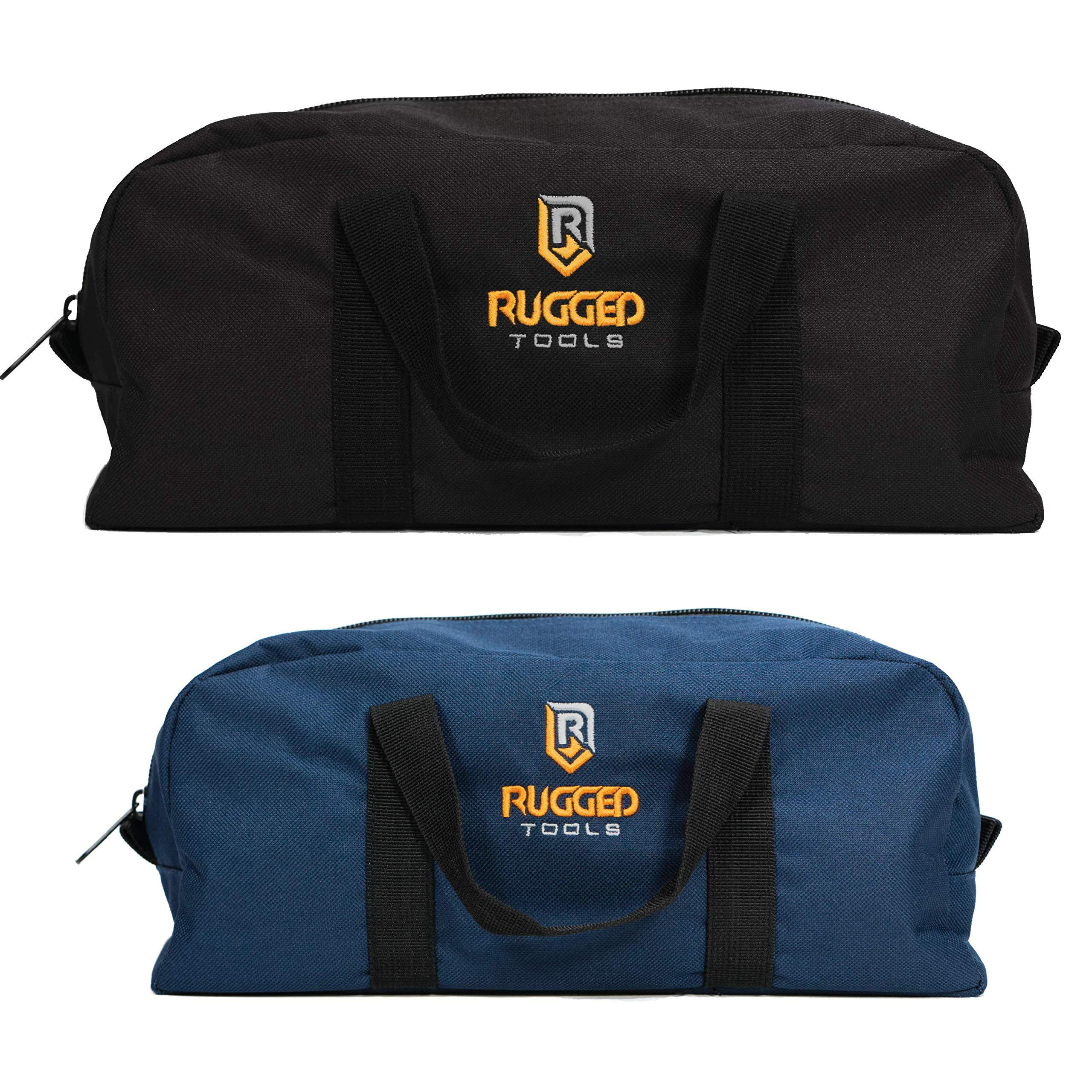 Rugged Tools Tool Bag Combo - Includes 1 Small & 1 Medium Toolbag - Organizer Tote Bags for Electrician, Plumbing, Gardening, HVAC & More by Rugged Tools (Image #2)