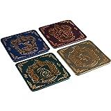 Harry Potter Hogwarts Crest Coasters, Multi-Colour