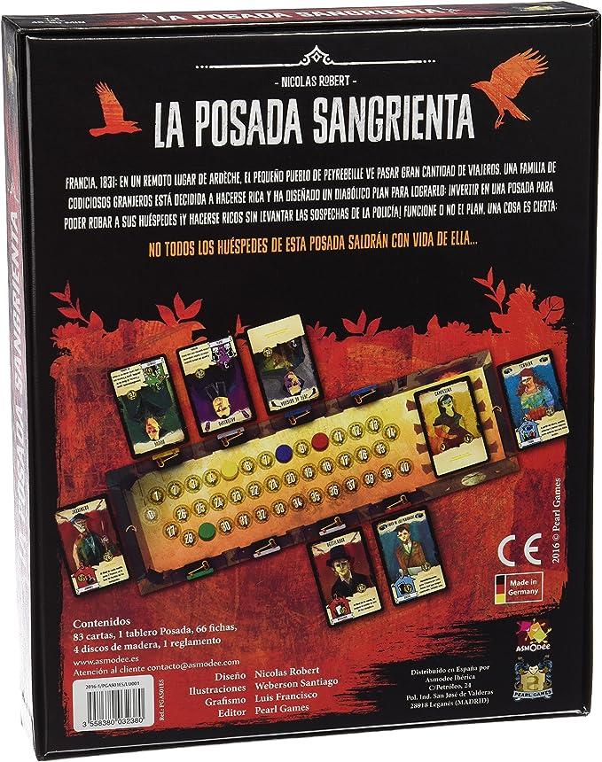 Asmodee-La Posada Sangrienta (ADE0POS01ES)