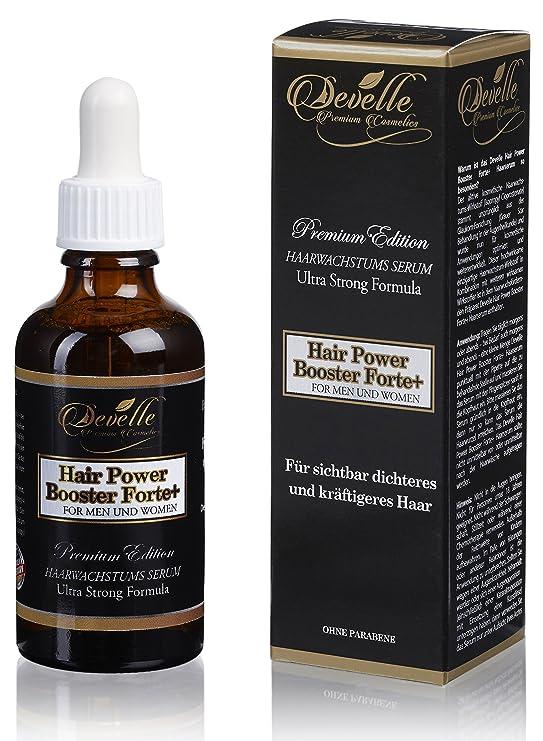 Hair Power Booster Forte+ 50 ml. I Serum para el crecimiento del cabello I PARA HOMBRES Y MUJERES I Para un cabello más fuerte y denso I Reforzado de ...