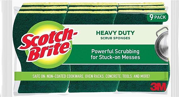 Scotch-Brite Heavy Duty Scrub Sponges