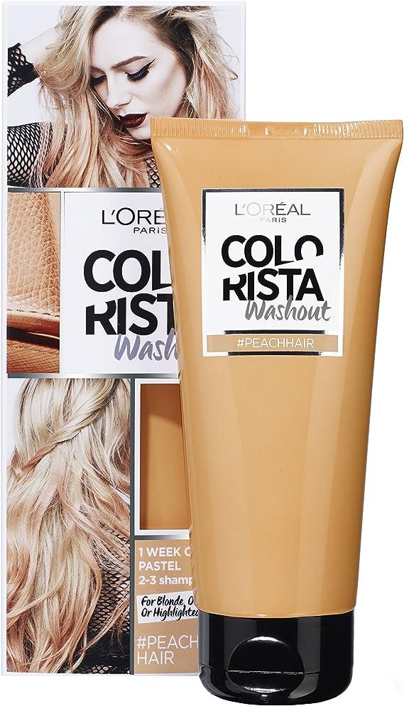 colorista Washout 1 semana color temporal para cabello pesca ...