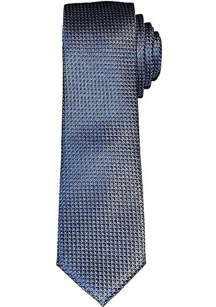 OLYMP - Corbata - Cuadros - para hombre Azul azul oscuro talla ...