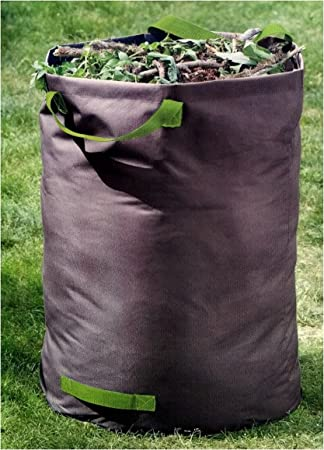 100 Litros hojas Saco para residuos de jardín, poliéster, resistente hasta 60 kg, 60 x 50 cm, saco de jardín plegable: Amazon.es: Oficina y papelería
