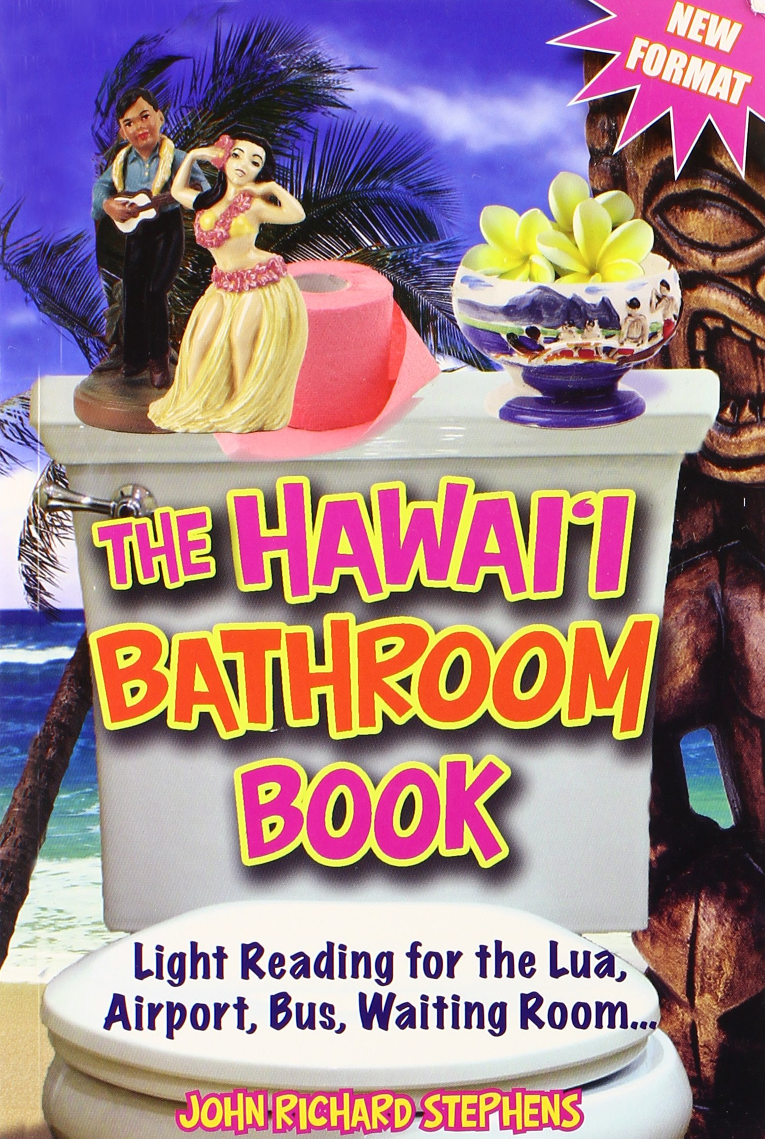 the hawaii bathroom book light reading for the lua airport bus