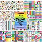 Planner Stickers Pack, 28 Sheets/1378 Stunning Accessories, Variety Decorative Stickers for Planner, Journal and…