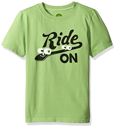 Amazon Com Life Is Good Boys Enjoy Ride Skateboard Crusher Tee