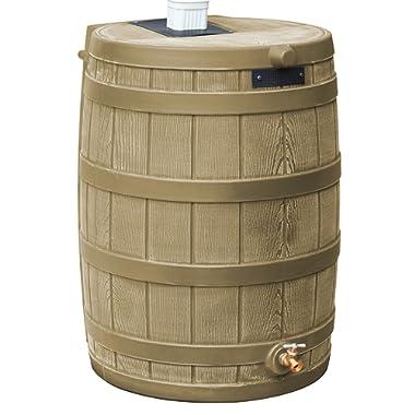 Good Ideas RW40-KHA Rain Wizard Rain Barrel 40-Gallon, Khaki