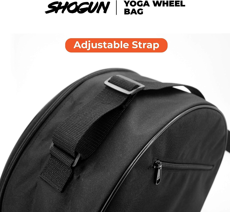 Stretching Yoga Wheel Roller for Back Pain Improving Flexibility and Backbends. Yoga Wheel Bag Shogun Sports Yoga Wheel