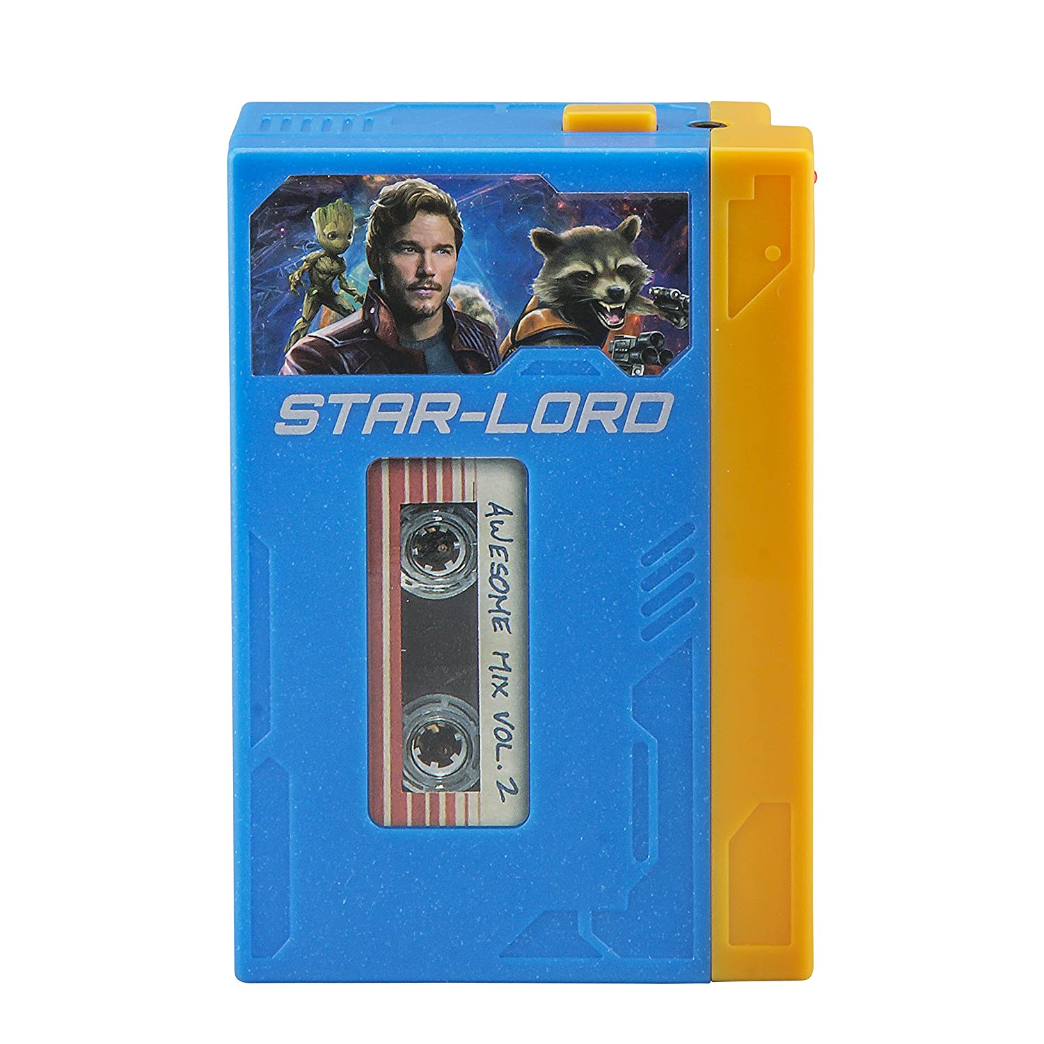Guardians of The Galaxy Marvel Movie Toy Starlords Walkman Kids Voice Recorder and Kids mp3 Player All in One – Starlord Cassette Player with Starlords Headphones KIDdesigns Inc GG-120.FMV7