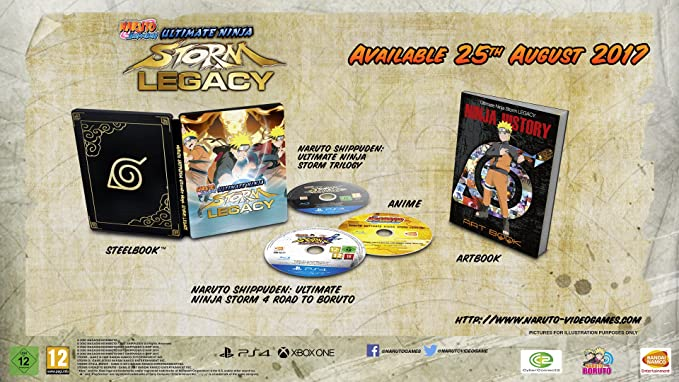 Naruto Shippuden Ultimate Ninja Storm Legacy Special Edition ...