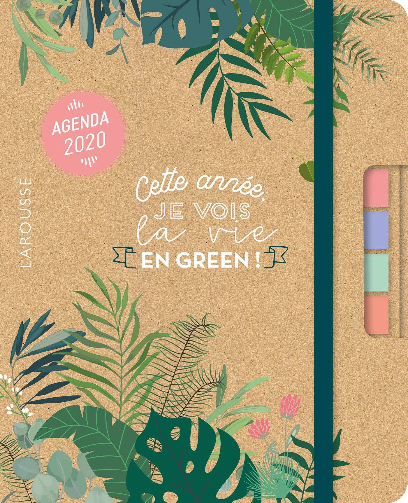 Green agenda 2020: Cette année je vois la vie en green ...
