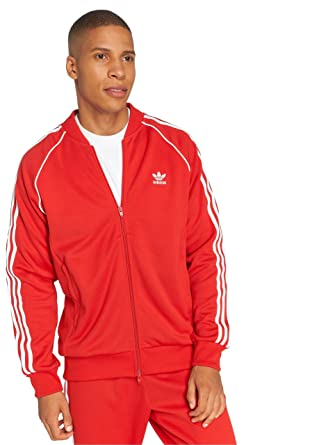 9a02aabf Adidas Superstar Track Jacket For Men DH5824 Red - L: Amazon.ae