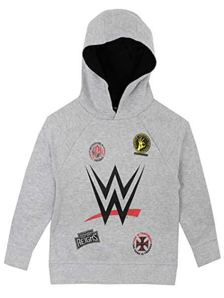 WWE - Sudadera con Capucha - World Wrestling Entertainment - para Niños: Amazon.es: Ropa y accesorios