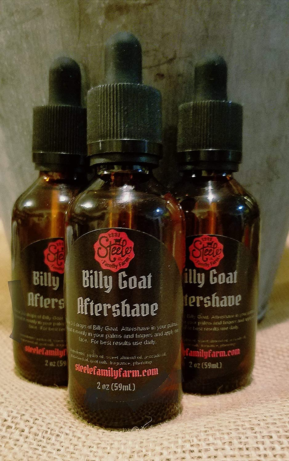 Billy Goat Aftershave - 2oz