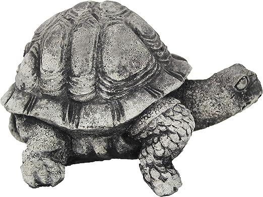 Pequeña tortuga hormigón Estatua Animal de cemento jardín Estatua Figuras De Las Tortugas (Patio trasero arte: Amazon.es: Jardín