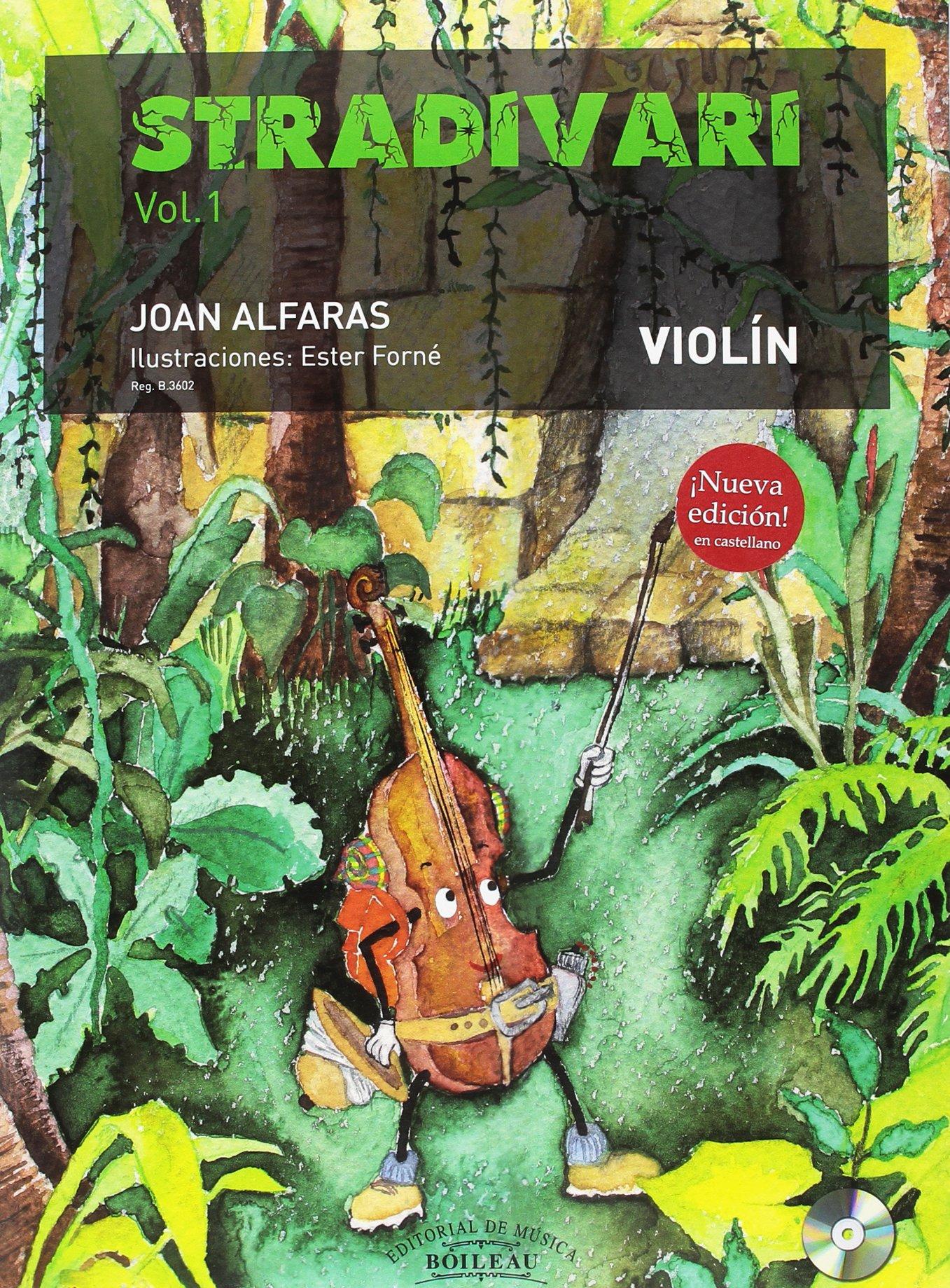 Stradivari vol. 1 - Violín - B.3602 Tapa blanda – 1 ene 2000 Joan ALFARAS Boileau Editorial De Musica 8417199012