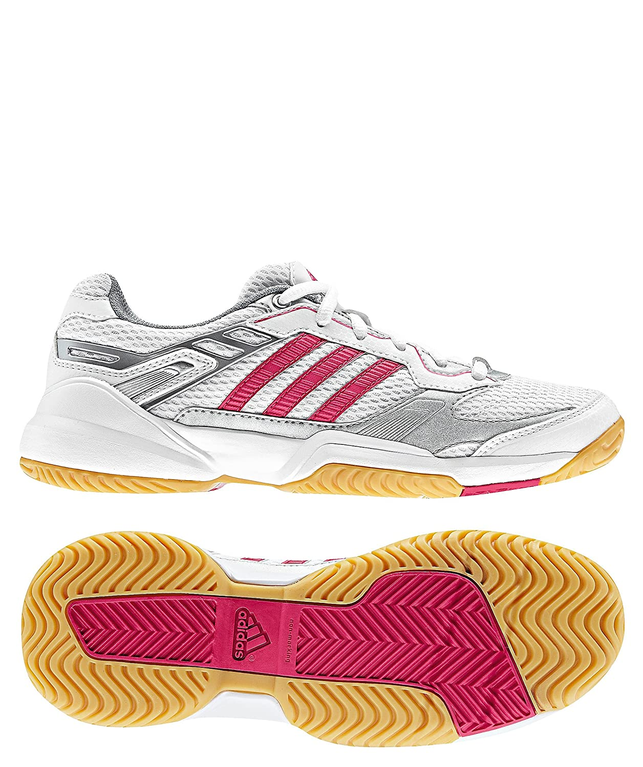 adidas Performance Kinder Hallenschuhe Opticourt Truster