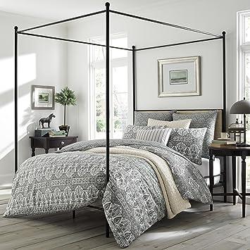 Amazing Amazon Com Stone Cottage Brie Duvet Full Queen Grey Home Inzonedesignstudio Interior Chair Design Inzonedesignstudiocom