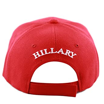 THE HAT DEPOT Unisex 2016 President Campaign Hillary for President Hat  (Black) at Amazon Women s Clothing store  48a9d63a757a
