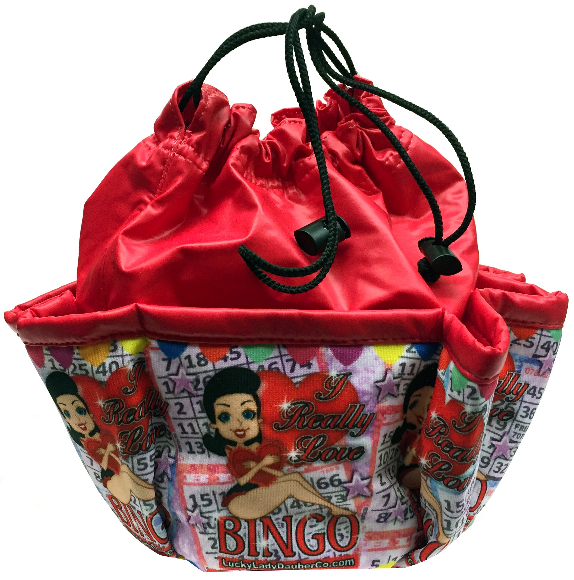 LUCKY LADY DAUBER CO I Really Love Bingo! Bingo Bag