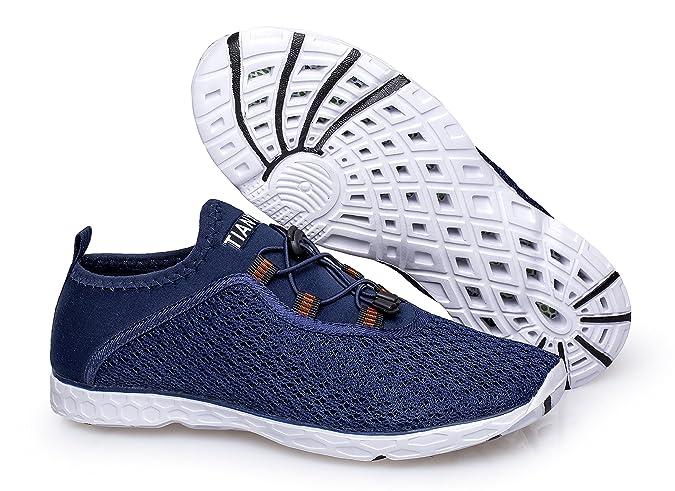 351766172aca Vibdiv Men s Water Shoes Aqua Quick Drying Mesh Outdoor Shoes   Amazon.co.uk  Shoes   Bags