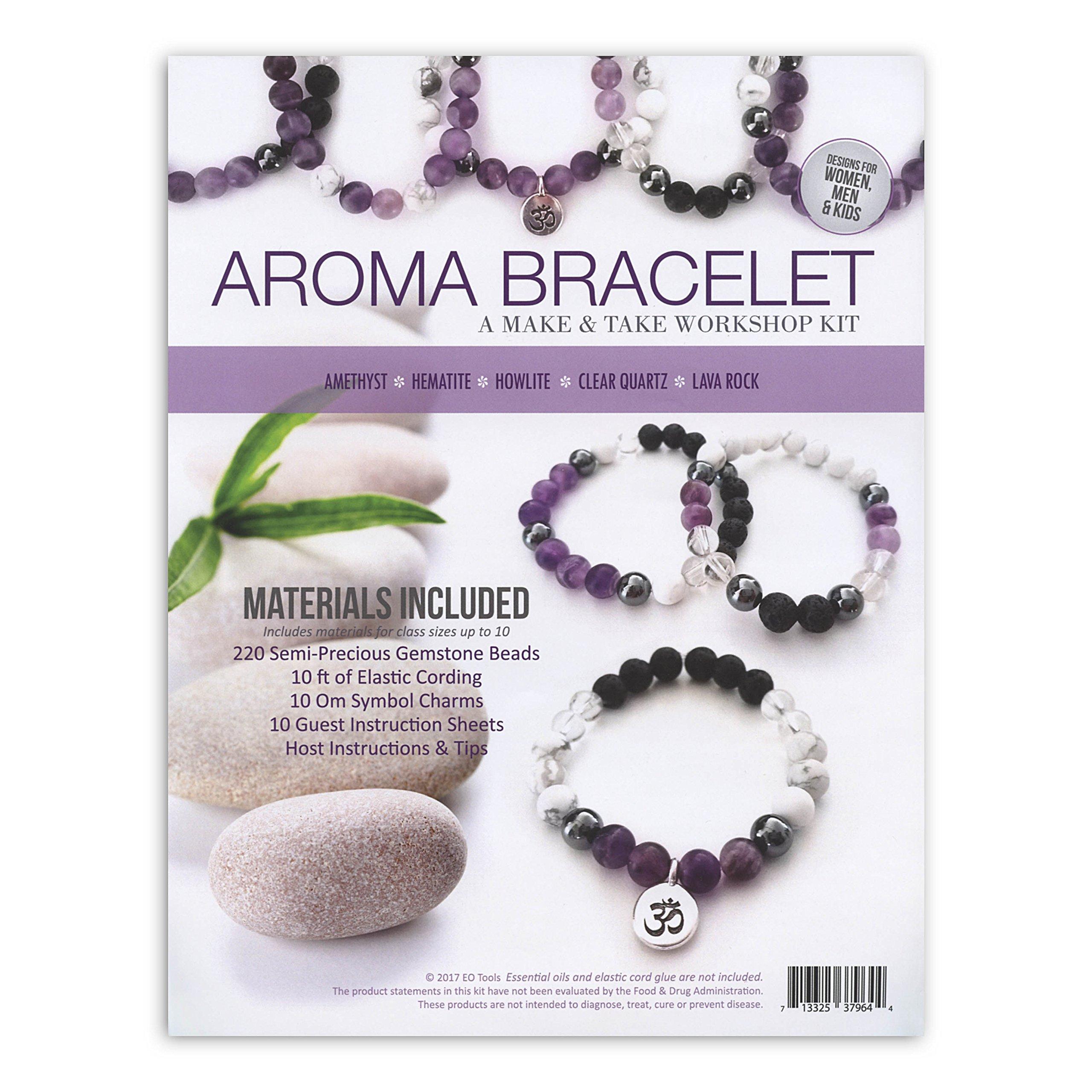 Amethyst Aroma Bracelet Make & Take Kit by EO Tools (Image #1)
