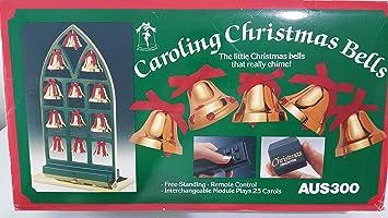 ye merrie minstrel caroling christmas bells aus 300