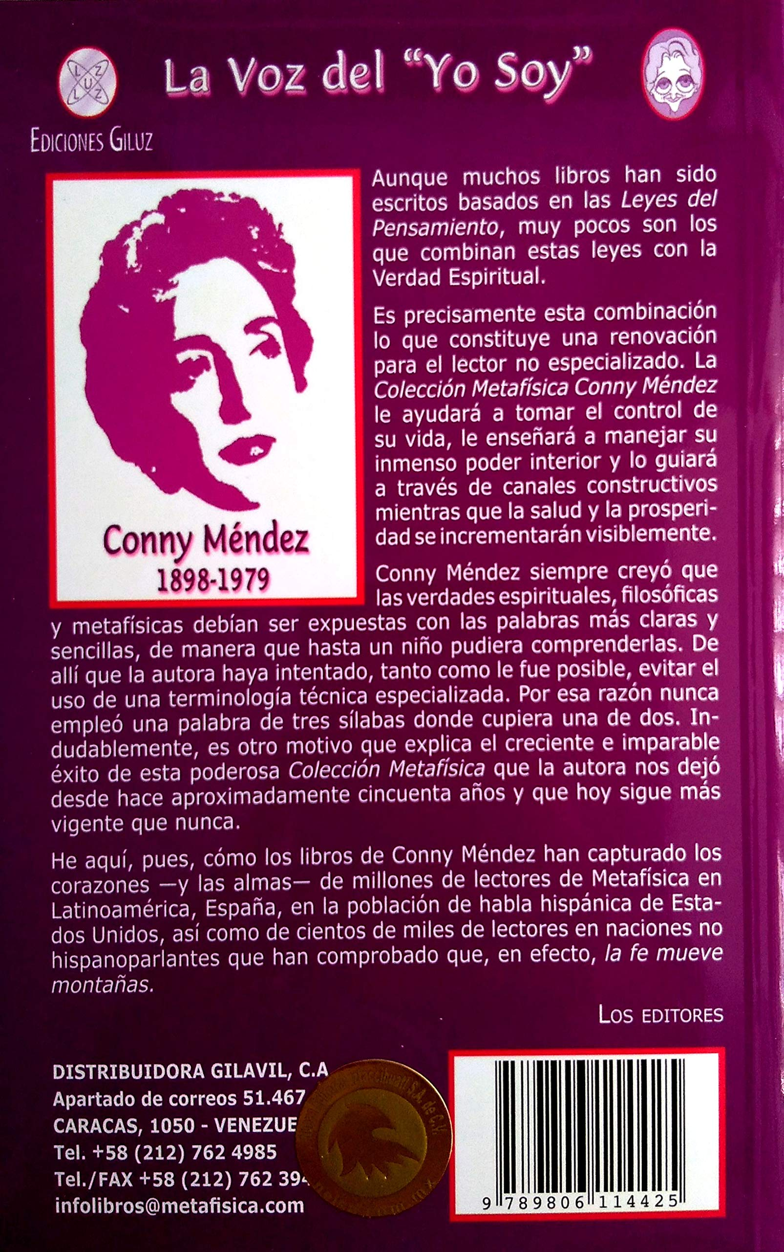 La Voz Del Yo Soy Spanish Edition Conny Mendez 9789806114425 Books