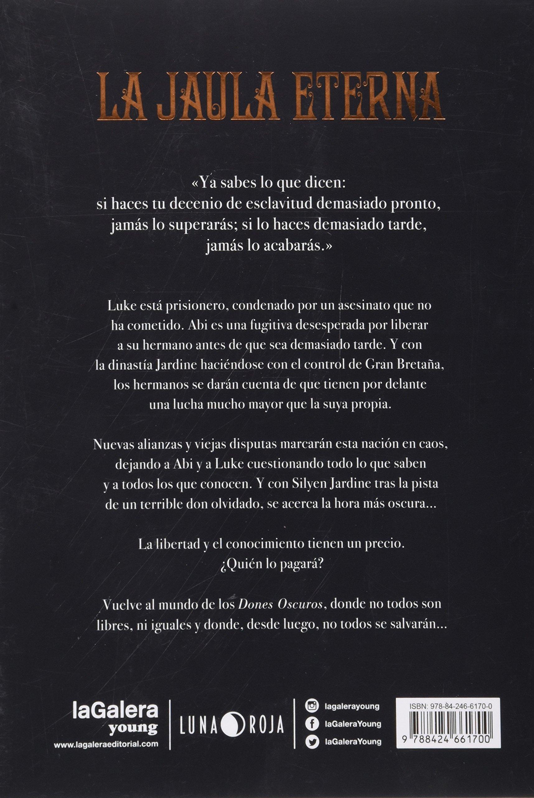 Dones Oscuros 2. La jaula eterna: 40 (Luna roja): Amazon.es: Vic ...
