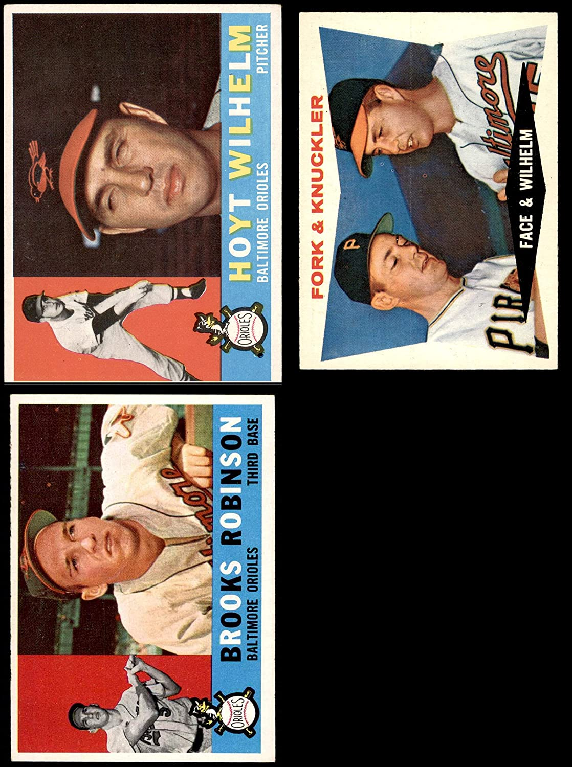 1960 Topps Baltimore Orioles Near Team Set Baltimore Orioles (Baseball Set) Dean's Cards 6 - EX/MT Orioles