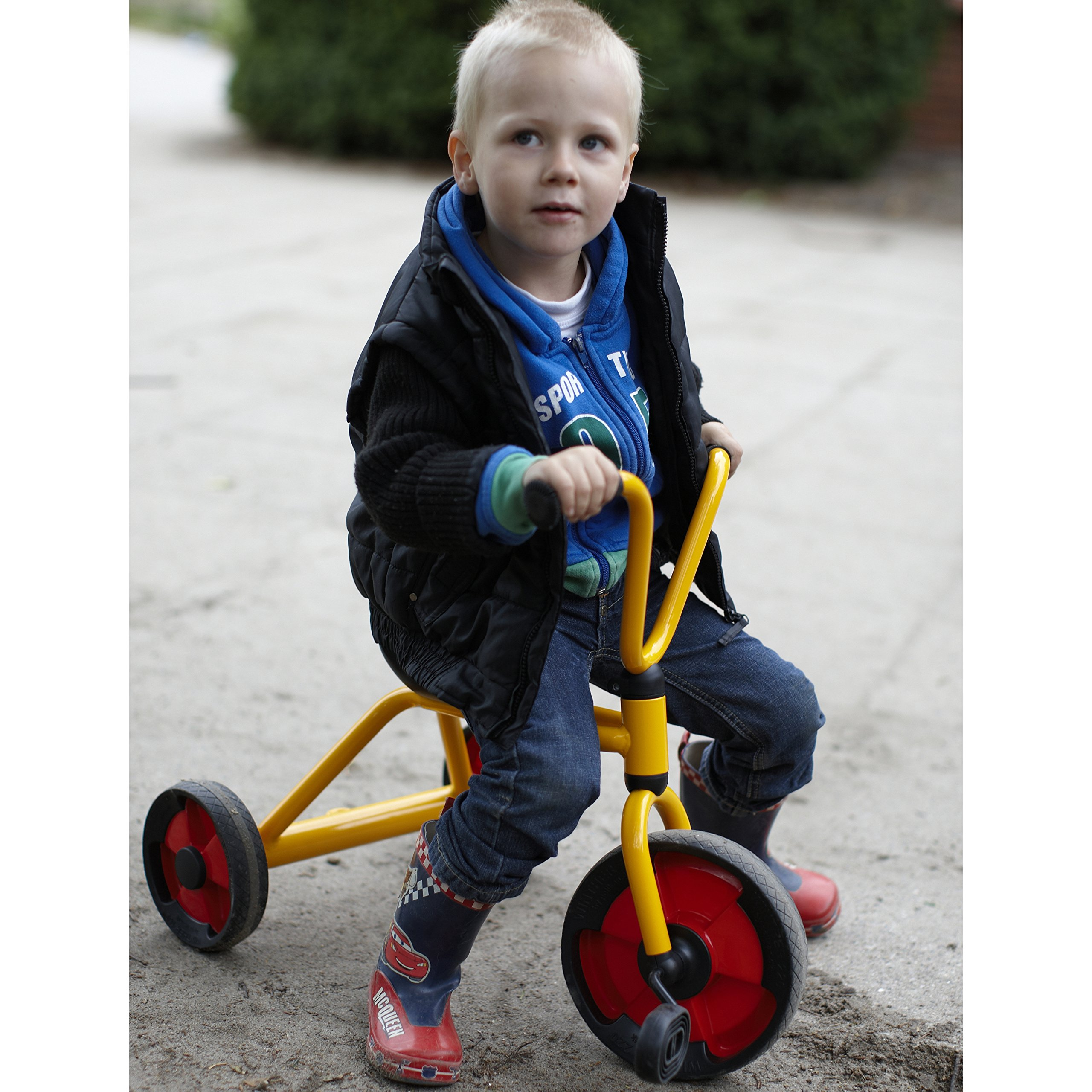 Winther WIN582 Tricycle Grade Kindergarten to 1, 10.63'' Height, 16.93'' Wide, 21.06'' Length by Winther (Image #2)