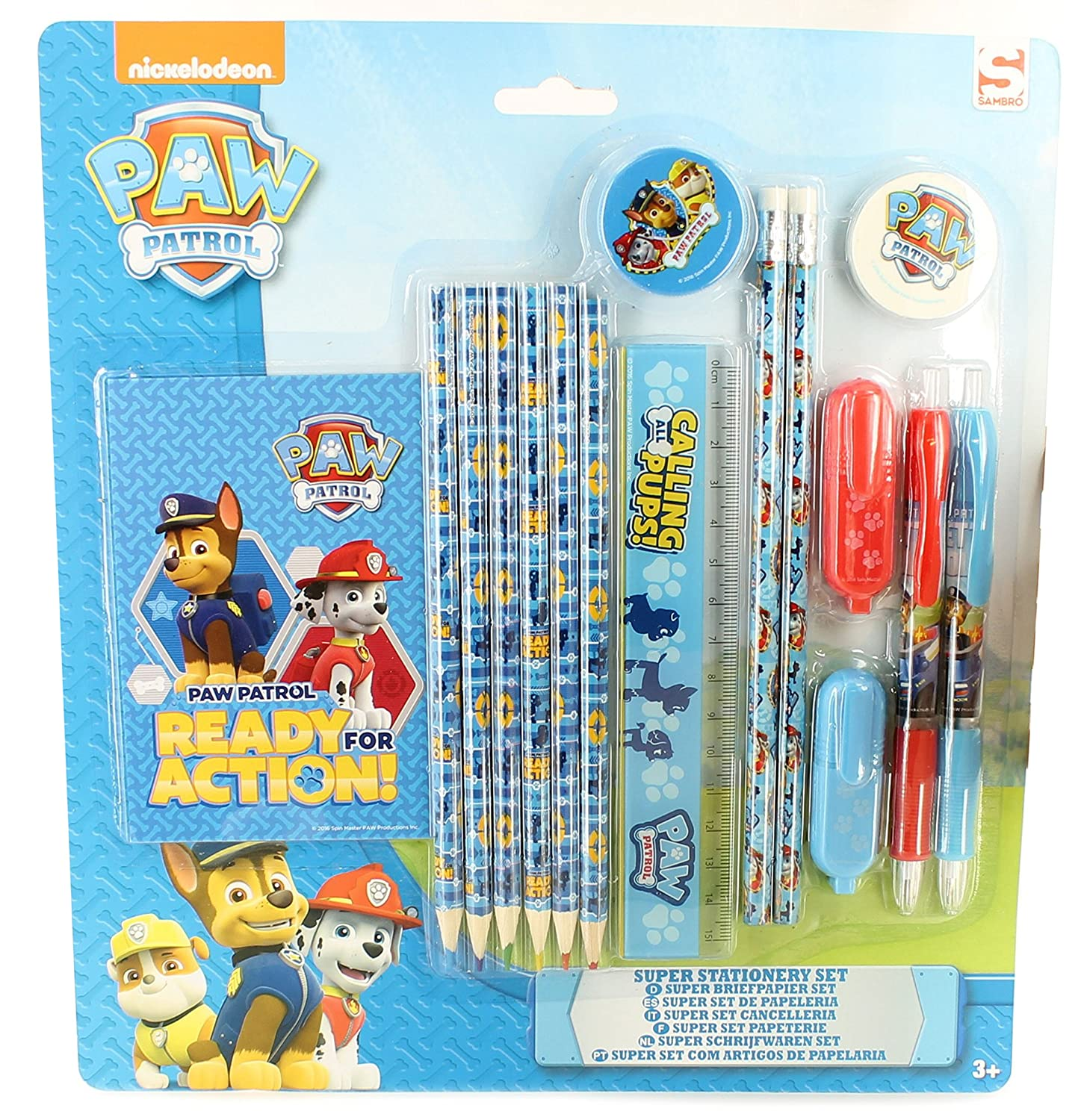 NEW 2016Paw Patrol Children Kids Ready for Action Marshall Chase School Backpack