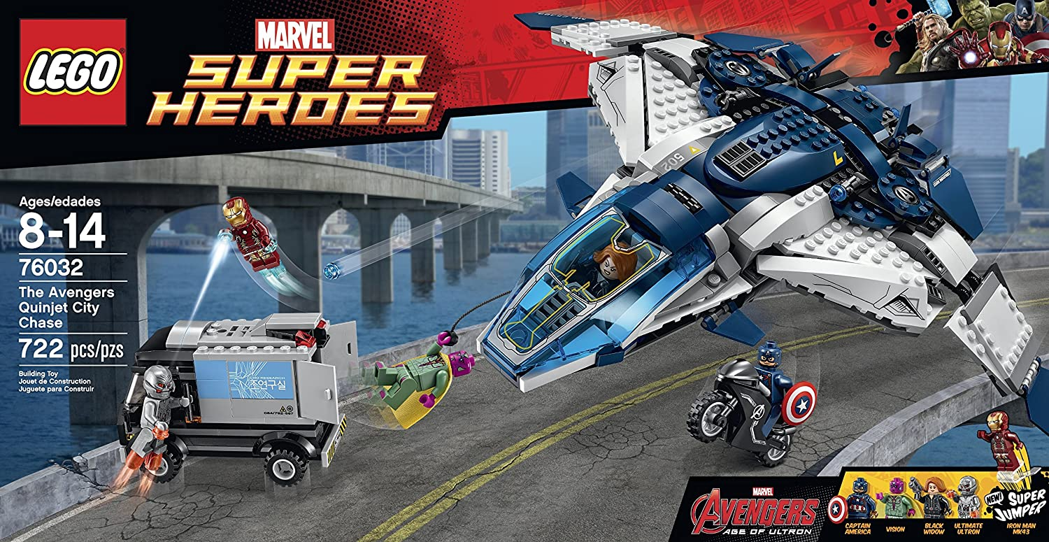 LEGO the Avengers Quinjet City Chase