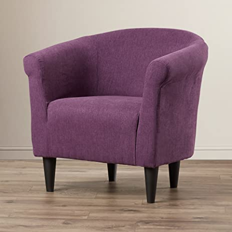Modern Barrel Chair   Chic Contemporary Accent Furniture   Living Room  Bedroom Seat For Home (