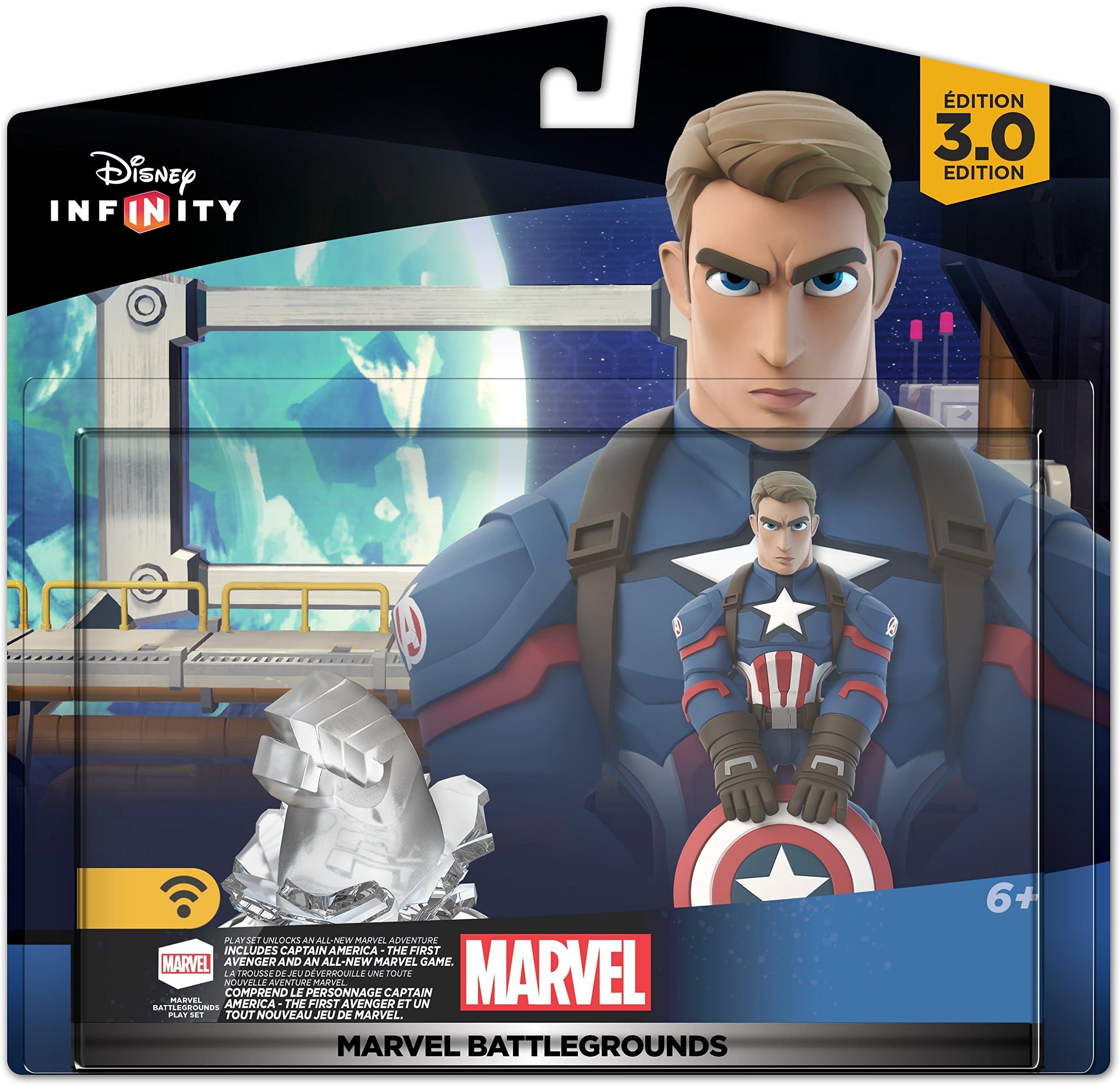 Amazon Com Disney Infinity 3 0 Edition Marvel Battlegrounds Play
