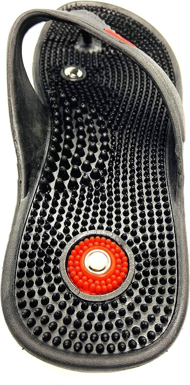 AASh Acupressure Magnetic Massage Slippers Sandals Shoes Reflexology Foot Massager Acupoint Massage Sizes UK 3 to UK 10