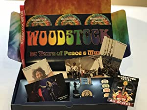 Woodstock 3-DVD Box Set: 40th Woodstock Reunion Concert at Bethel Woods (Newly Released) Commemorative 50th Anniversary T-Shirt, Gifts and Posters.Limited Edition!