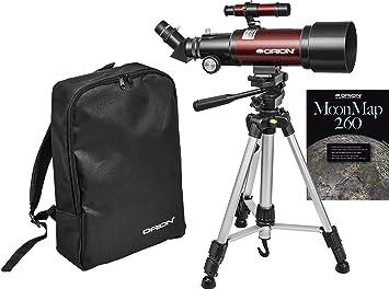 Orion goscope iii mm refractor travel telescope amazon